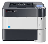 CLICK TO ENLARGE Kyocera P3050dn B&W Printer