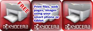 Free Kyocera Mobile Print app